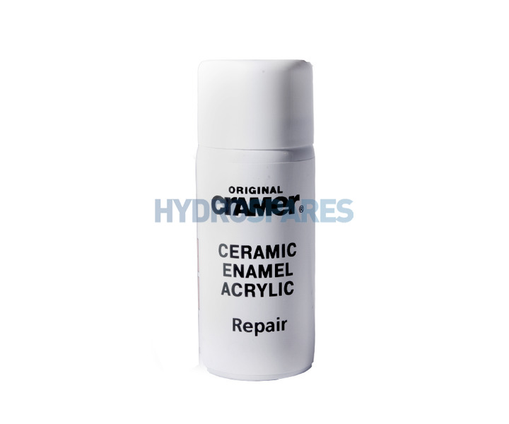 cramer bathroom kitchen repair cover spray 50ml alpine white