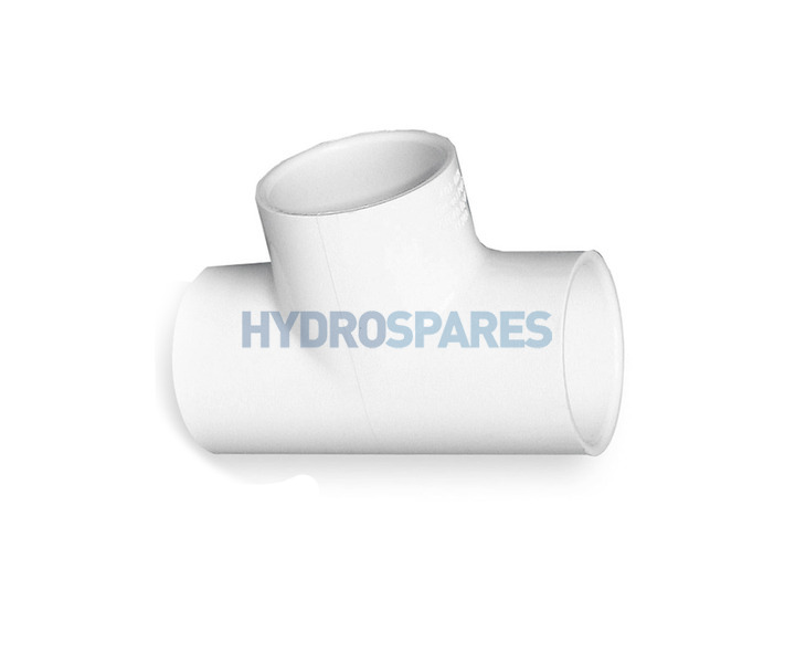 Pvc tee equal imperial quot fittings hot tub