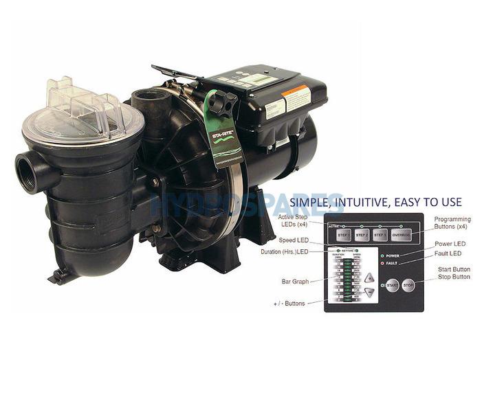 Sta rite s5p2r vs salt water pump for Sta rite pool pump motors