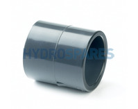 50mm PVC Socket Coupler - Equal