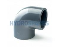 """3.00"""" Inch PVC Elbow 90° - Equal  Grey"""