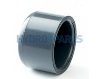 2.00 Inch PVC End Cap - Grey