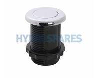 Hydroair Air Button - Chrome 42mm Ø
