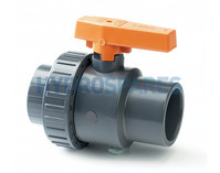 PVC Ball Valve Single Union 2.0""