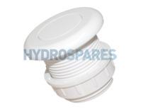 Hydrospares Air Button - White 51mm Ø