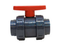 HydroAir Ball Valve - Double Union PVC