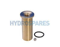 "Air jet brass 1/2""Ø - Small Flange"