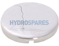 HydroAir Chrome Air Jet Cap - 30mm