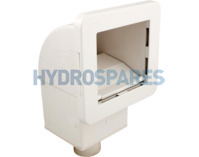 Waterway Square Spa Skimmer - 10sq. ft White
