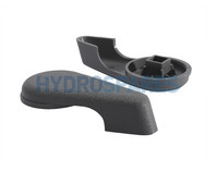 "Waterway 2.0"" Control Valve Handle - Texture Type"