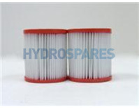 Pleatco Hot Tub Filter Cartridge - PIN3PAIR