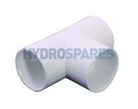 HydroAir Tee PVC For Air Jet