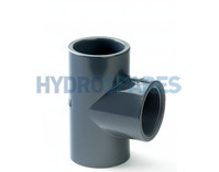 PVC Tee Adaptor Reducing - Soc/Soc/Threaded Soc