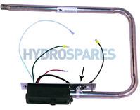 Laing Square Back Heater Low Flow - C3550-1