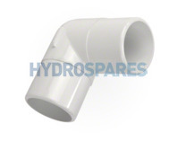 2-00 Inch PVC Elbow 90° - Equal Male