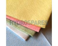 Disposable Microfibre Wipes - 50 per pack