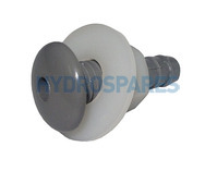 Waterway Air Injector - Button Style Grey