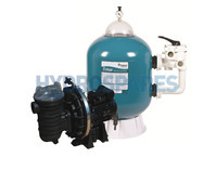 Triton Side Mount Filter & Sta-Rite 1HP Pump