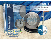 Ultra Flat LED Pool Light - 10 Watt - Warm White