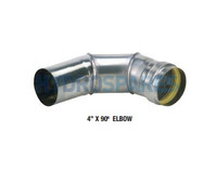 Z-VENT SW ELBOW 4 in x 90 DEG