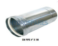 "Z-Vent SW Pipe - 4.00"" (inch) x 1 Meter"