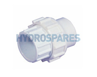 "2.00"" ABS Socket Union - Plain"