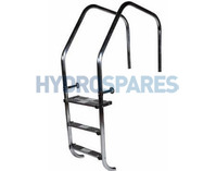 "Stainless Steel Arch Overflow Ladders - 1.7"" / 43mm"