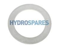 HydroAir Flat Gasket -  Clear