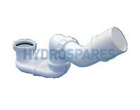 Koller Waste Siphon - Standard Profile