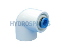 Hydrospares 90° Elbow with Push Fit Connection