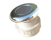 Hydrospares Air Button - Chrome 51mm Ø