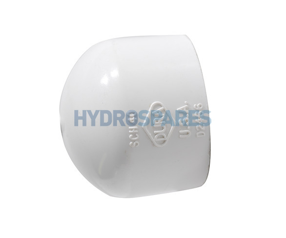 Pvc fitting end cap soc imperial quot fittings