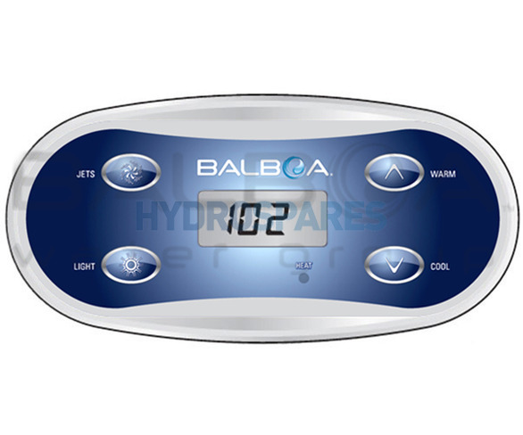 Balboa Topside Control Panel Vl406u 55350 4 Button 1 Pump