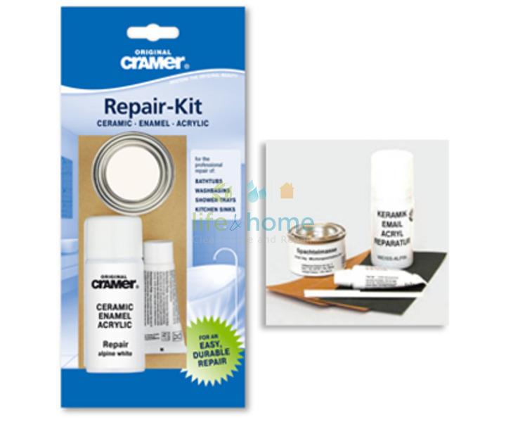 Cramer Scratch & Chip Repair Kit - Alpine White