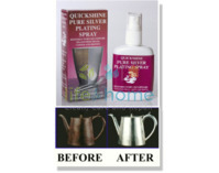 Quickshine Silver Plating Spray - 45ml bottle