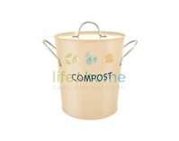 Compost Pail - Buttercream