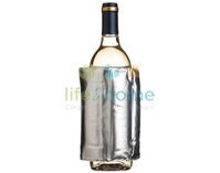 Bar Craft Silver Wrap Around Wine Cooler - with velcro fastening