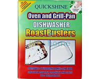 Quickshine Roast Busters - Oven & Grill-Pan Dishwasher Tablets
